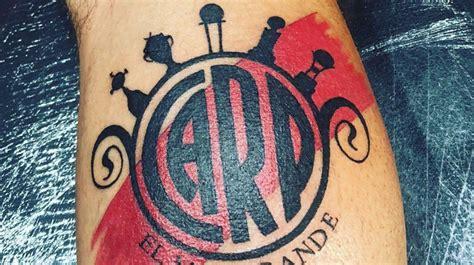 El tatuaje más loco es de un hincha de River Plate Soy