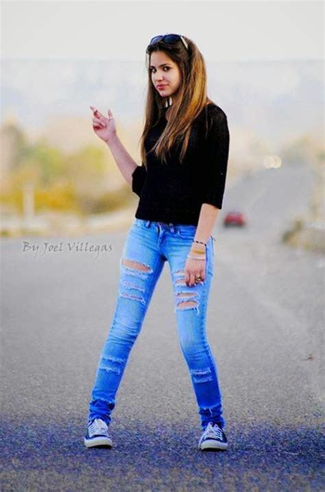 chicas italianas en jean ajustados