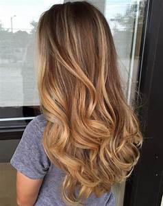 Balayage Blond Caramel : 20 sweet caramel balayage hairstyles for brunettes and ~ Nature-et-papiers.com Idées de Décoration