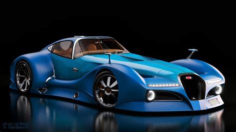 Bugatti 124 Atlantique Concept Greenstylo