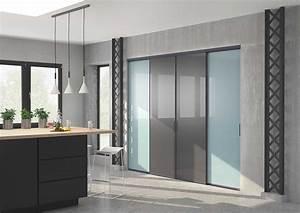 Porte de placard de cuisine sur mesure Table de lit