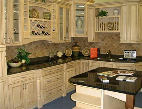antique white kitchen cabinets  chocolate glaze white