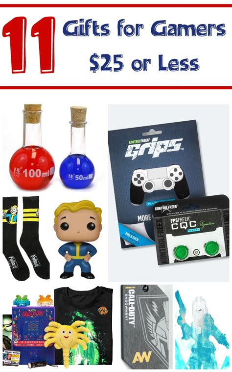 11 inexpensive gift ideas for gamers