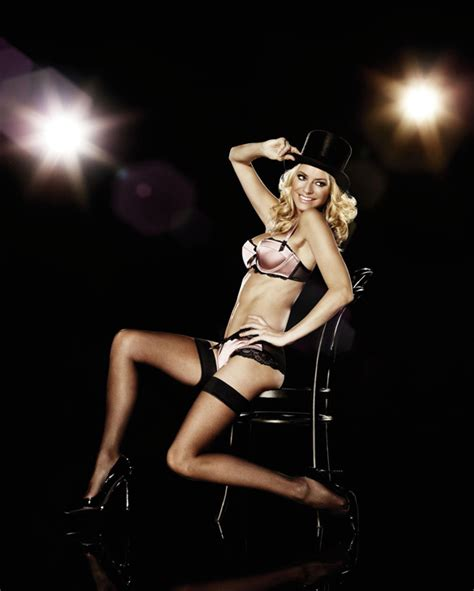 Tess Daly models for La Senza   News   Strictly Come ...
