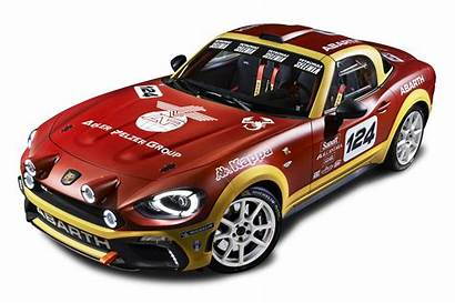 Rally Fiat 124 Abarth Spider Clipart Transparent
