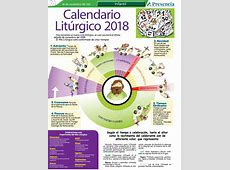 Calendario Litúrgico 2018 Presencia Digital