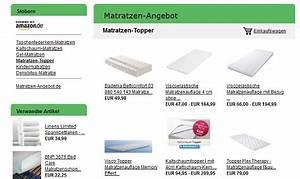 Matratzen Gegen Rückenschmerzen Test : matratzen topper test matratzenauflagen erh hen den schlafkomfort matratzen ~ Orissabook.com Haus und Dekorationen
