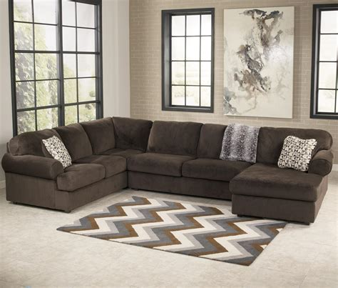 casual sectional sofa   chaise  signature
