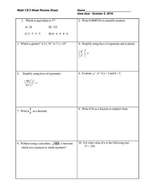 Fractional Exponent Worksheet  Simplifying Negative Fractional Exponents Worksheet Worksheets