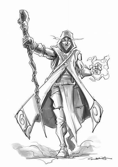 Wizard Fantasy Male Character Rpg Human Drivethrurpg