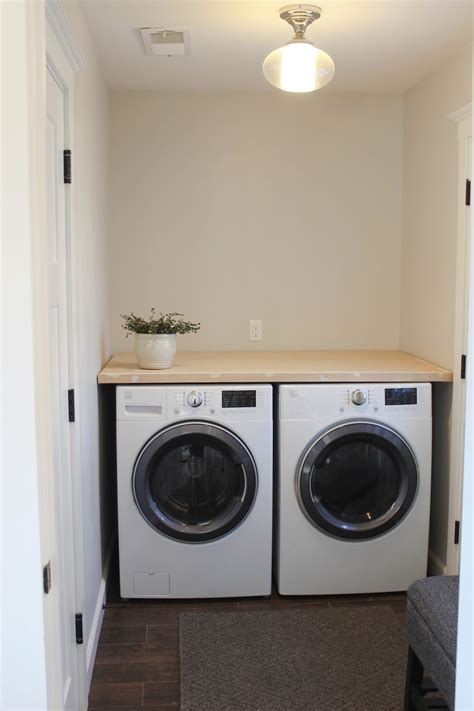 washer and dryer countertop diy laundry room countertop blair interior