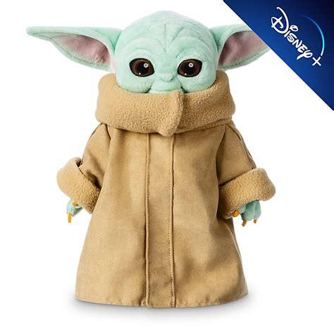 Peluche pequeño Grogu, Star Wars: The Mandalorian, Disney ...