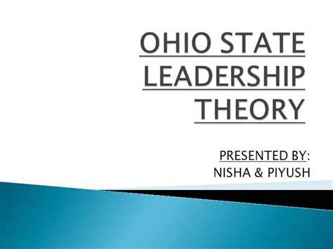 ohio state leadership theory authorstream