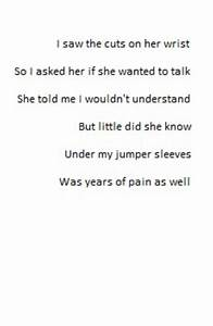 Poems About Cutting Yourself Tumblr | www.pixshark.com ...
