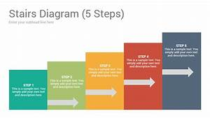 Stairs Diagrams Keynote Template