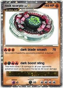 Pokémon rock scorpio 6 6 - dark blade smash - My Pokemon Card