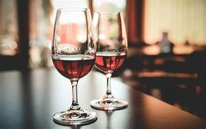 Red Wine Glasses Widescreen Wallpapers