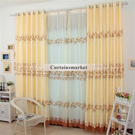 Inexpensive Curtains And Drapes - embroidery crafts living room discount curtains and drapes