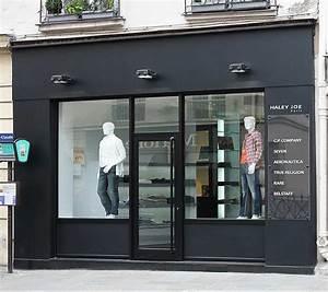 facade de magasin vitrier miroiterie oise 60 tel 03 With porte de garage coulissante jumelé avec serrurerie paris 15