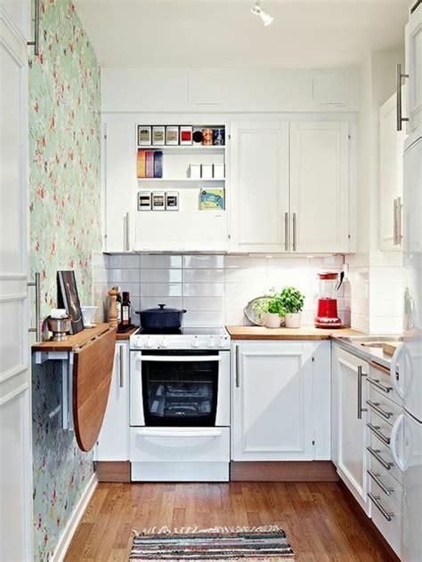 cuisine 4m2 comment aménager une cuisine idées en photos