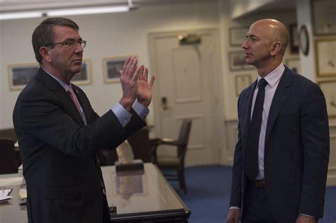 filesecretary  defense ash carter meets  jeff bezos