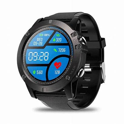 Smart Fitness Smartwatch Rugged Tracker Monitor Rate