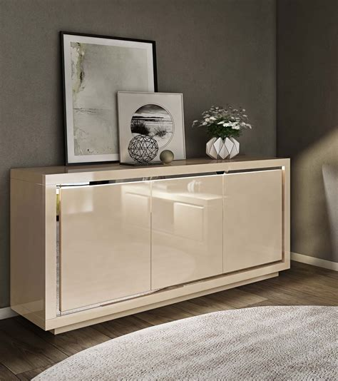 High Gloss Sideboards Uk by Floris High Gloss Sideboard 155cm