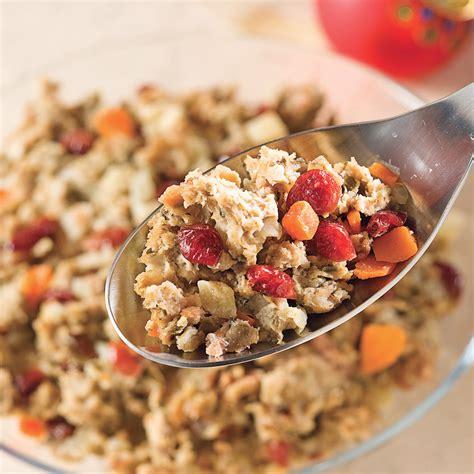 farce cuisine farce aux canneberges recettes cuisine et nutrition