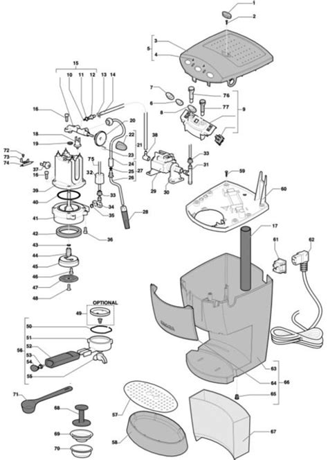 breville coffee grinder and maker keurig parts diagram wiring diagram and fuse box diagram