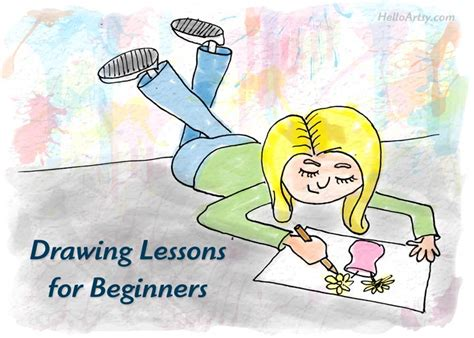 drawing lessons  beginners helloartsy