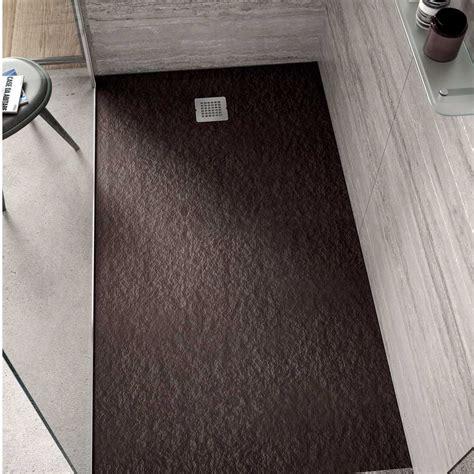 Piatto Doccia Ultra Flat by Piatto Doccia Rettangolare Effetto Pietra 80x100 Ideal