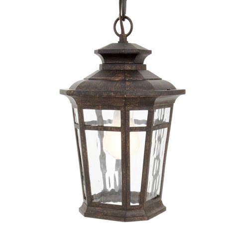 hton bay waterton collection 1 light ridge bronze