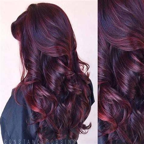 burgundy hair color ideas top 25 best burgundy hair colors ideas on