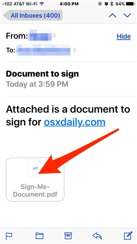 how to open a pdf on iphone how to sign documents on iphone from email quickly