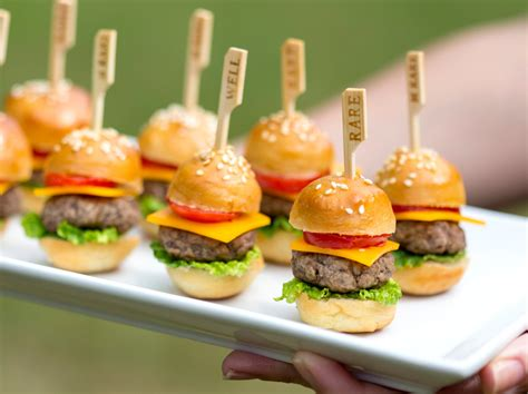 Party Food :  How To Make Mini Cheeseburgers