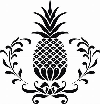 Pineapple Hospitality Icon Clipart Panda Vector