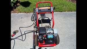 Troy Bilt Honda Power Pressure Washer Gcv160 5 0hp Engine