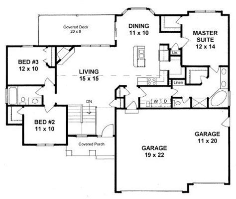 ranch floor plans with large kitchen plan 1460 3 bedroom ranch walk in pantry 3 car garage 9192