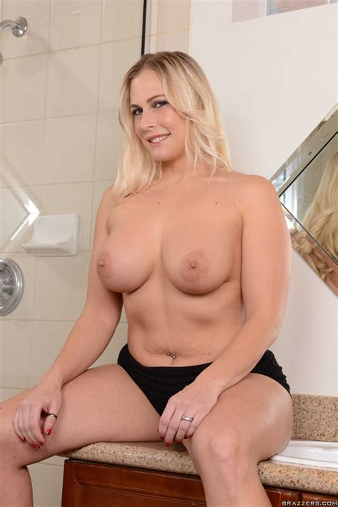 Busty Blonde Stripping And Fucked Under The Shower Photos