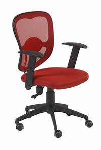 red desk chair Quincy Red Swivel Office Chair | Office Chairs