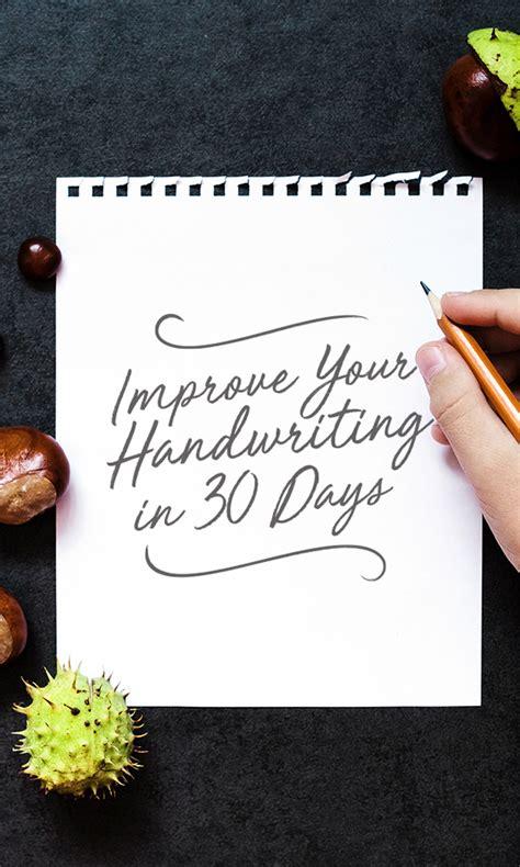 improve  handwriting   days  challenge