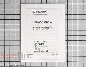 Washer  Dryer Combo Repair Manual - 5995381885
