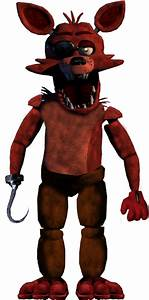 Repaired Foxy by Fazboggle on DeviantArt