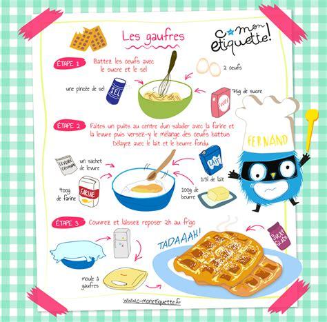 recette de cuisine pour enfants recette de gaufres