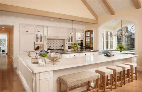 built in kitchen island classic kitchen design with awesome built in seating 4990