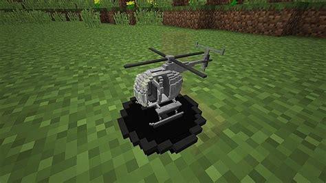 vanilla rc helicopter minecraft building