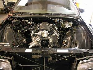 This Is A 1996 Impala Ss That Had A Chevy Lt1 Small Block Installed  Sps Will Be Installing A