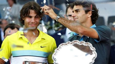 Rafael Nadal and Roger Federer will continue their great rivalry in the...