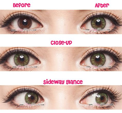 Gbt Green Circle Lenses Colored Contacts Pinkyparadise