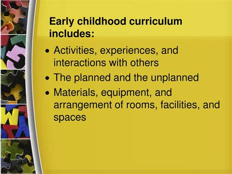 early preschool curriculum ppt developmentally appropriate practice for early 324